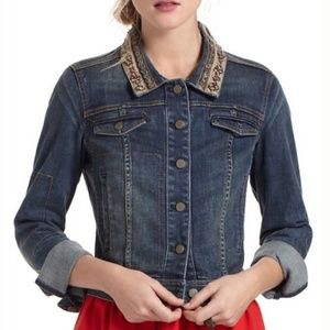 Anthropologie Holding Horses Jean Jacket